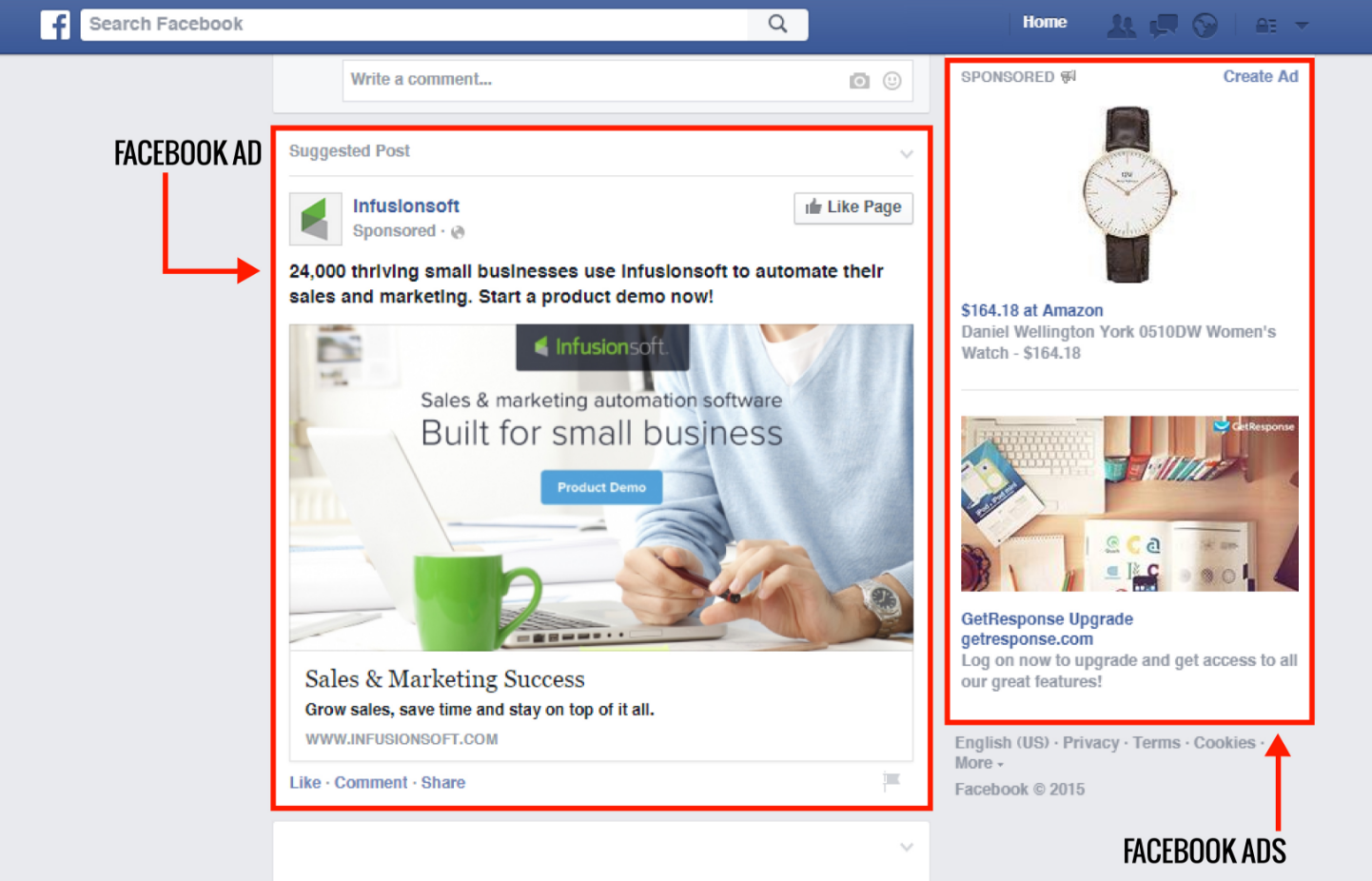 Facebook Advertising - Masterkey Marketing Corp